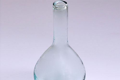bottles-glass-recycled-green-water-hand-made